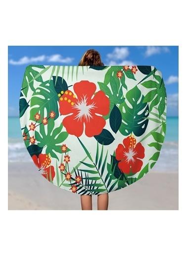 Lyn Home & Decor Amazon Çiçek Çok Amaçlı Örtü Renkli